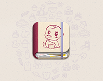 Baby grow diary app