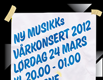 Ny Musikks Vårkonsert 2012