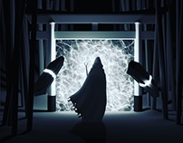 Shrine Monk evoking The Portal to another dimension