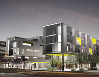 Santa Monica Mixed-use Development / Cuningham Group /