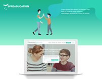Spreaducation User Interface for Parents and Tutors