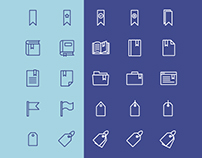 Bookmark & Tag Icons