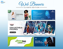 Web banners (Clients edition) Mega bundle