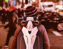 Concept backpack vehicle - KTM semantics