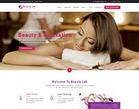 Beauty Lab - Beauty & Spa PSD Template