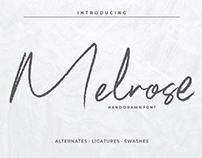 MELROSE - FREE SIGNATURE SCRIPT FONT