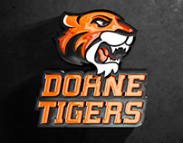 Doane Tigers - Identity rebrand