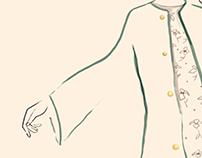 Dancing | Fashion Illustration