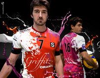 Sisley Volley: special team uniform for Champions