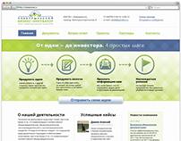 Промо-сайт для бизнес-инкубатора