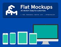 Flat Mockups