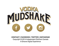 Vodka Mudshake Website