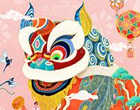 《醒狮》CC卡美珠宝Poster