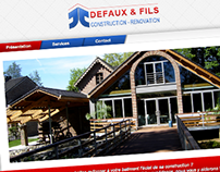 Defaux & Fils website