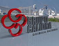 Logo 3D Grupo Calidra