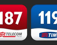 Telecom & Tim icon app