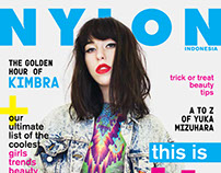 Nylon Indonesia October'15 - KIMBRA