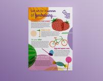 Summer Fundraising Poster