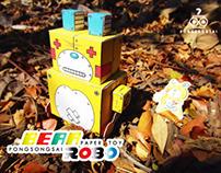 BEAR ROBO (Paper Toy)