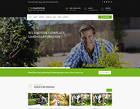 Plantation - Gardening and Landscaping Responsive HTML5
