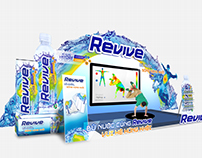 Revive booth design.