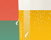 Beer & Foam | Illustration