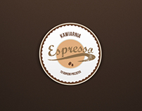 Espresso logo to the cafe