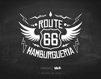 Criação de Marca: Route 66 Hamburgueria