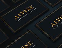 Alvine Beauty - logo concept