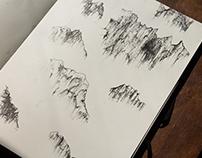 Norway Sketchbook tour