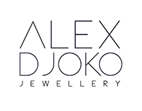 Brand identity for Alex Djoko (Jewellery designer)