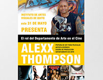 Afiche Conferencia Alexx Thompson