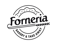 forneria bakery branding