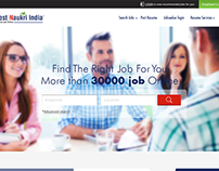job portal web design