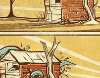 Tentacles + Cabin.