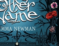 Wraparound cover for 'Any Other Name', by Emma Newman