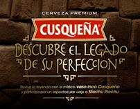 """CUSQUEÑA  /  """"EL ORO DE LOS INCAS"""""""