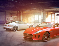 CG Simon Nankivell for Jaguar