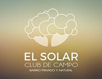 El Solar Club de Campo | Branding & web