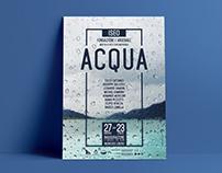 Graphic Design • Acqua