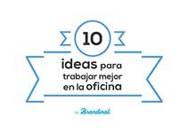 Infografía · 10 ideas para trabajar mejor