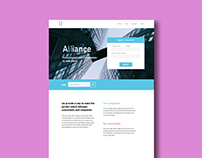 Alliance | Webdesign