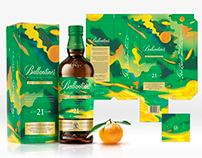 Ballantine's Limited Edition Packaging