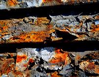 Nikopol, Ukraine, material decay