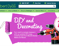 Banners for Robert Dyas