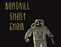 Roadkills Ghost Choir T-shirt Proofs