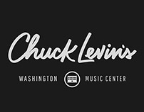 Chuck Levin's Logo Lettering
