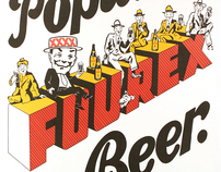 Fourex Beer Posters