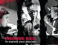 Choose Red Music Poster