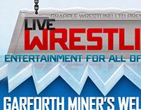 Grapple Wrestling Branding